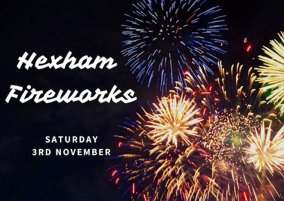 Hexham Fireworks Trip