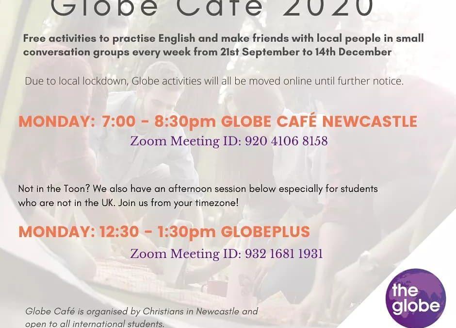 Globe Café online